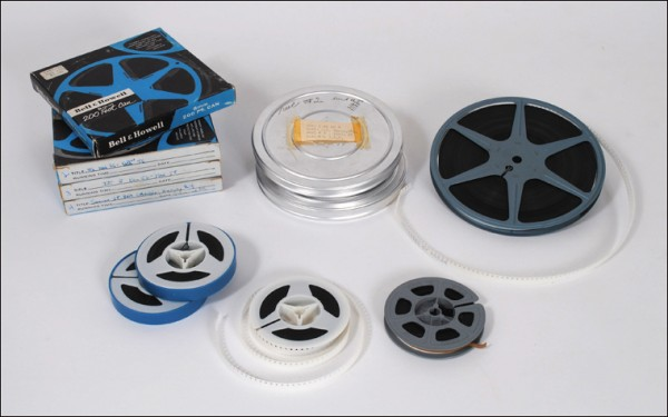 8mm color movies, home movies, films, family history
