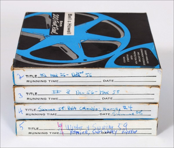 archival storage, home movies