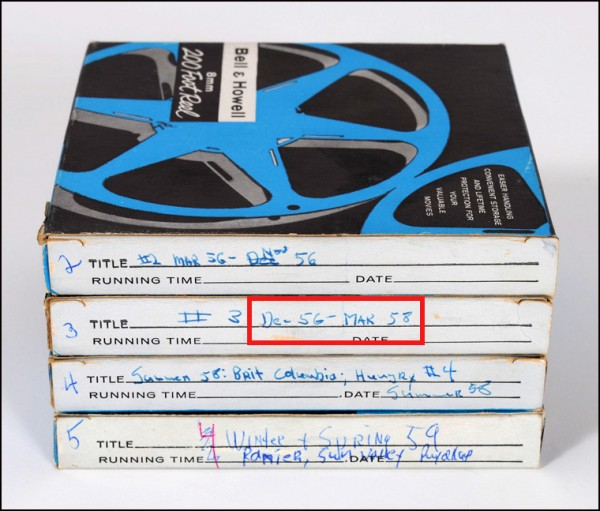 archiving home movies, archival storage, 8mm movies