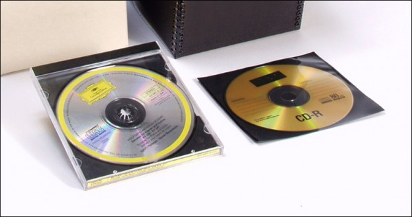 CD/DVD storage