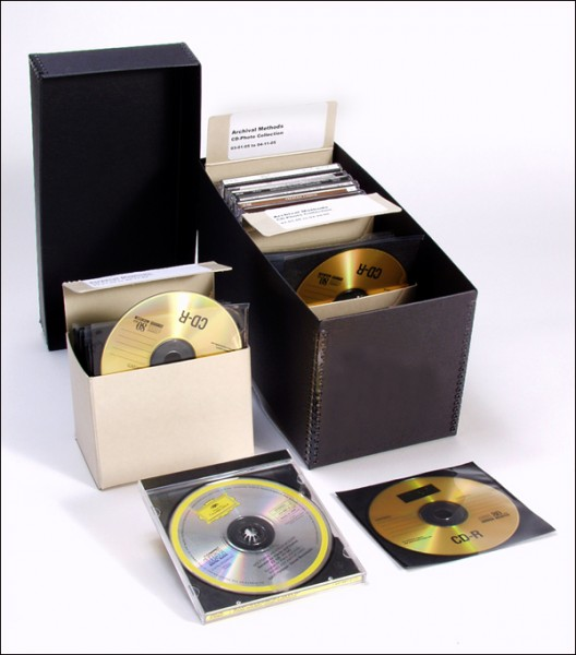 archival DVD storage, archival CD storage, home movies