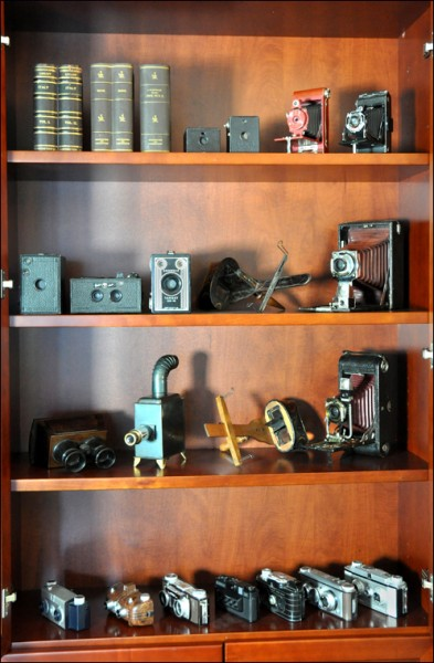 museums and archive, antique cameras
