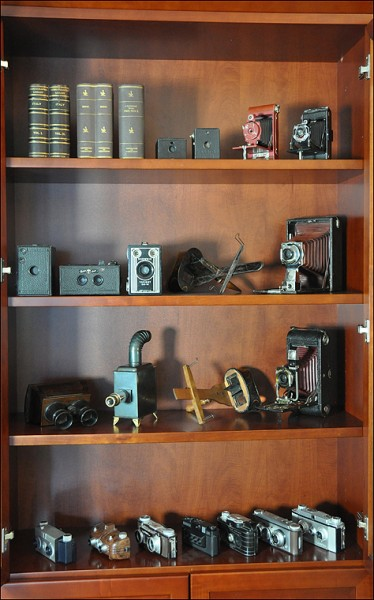 moving a collection, old cameras