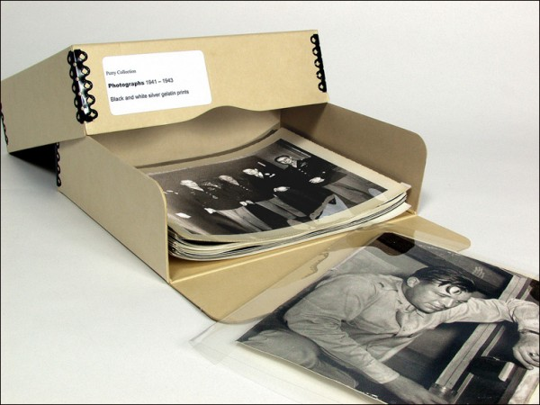 museums and archives, archival boxes