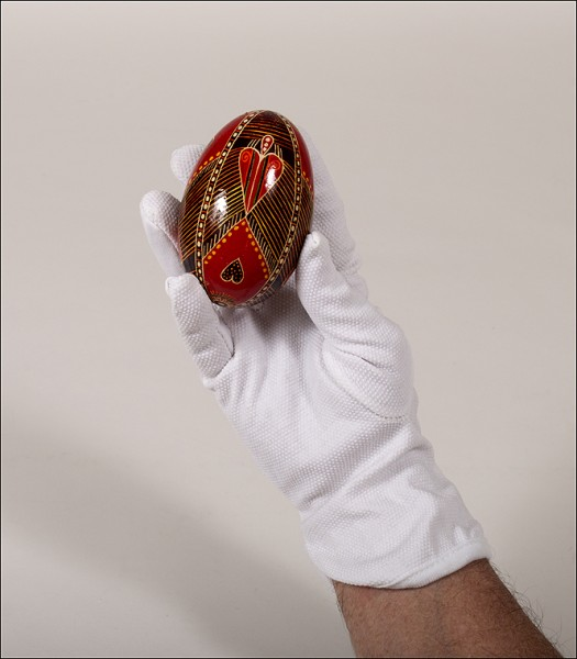 moving a collection, white cotton gloves