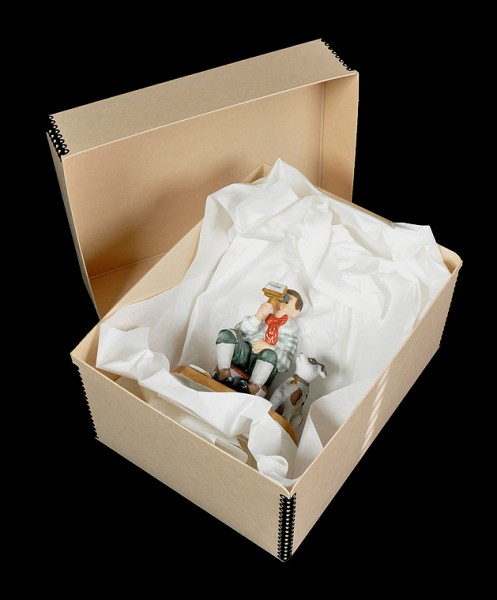 moving a collection, acid-free box, archival interleaving tissue