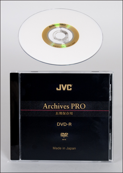 archival DVD, archival storage, preserving old recipes