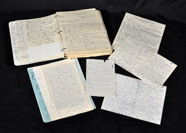 Antique hand-written letters and documents I found in the attic. Pretty cool.