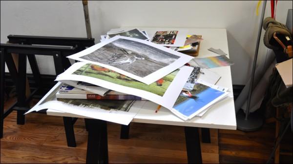Museum Drop Front Box, portfolio