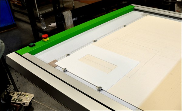 Matting Cut Mat on Mat Cutter