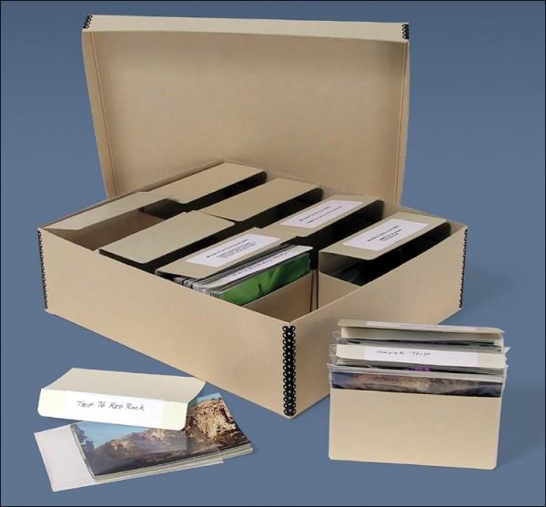 Organize 4x6 Photos, archival storage, acid-free box