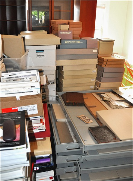 moving a collection, archival boxes