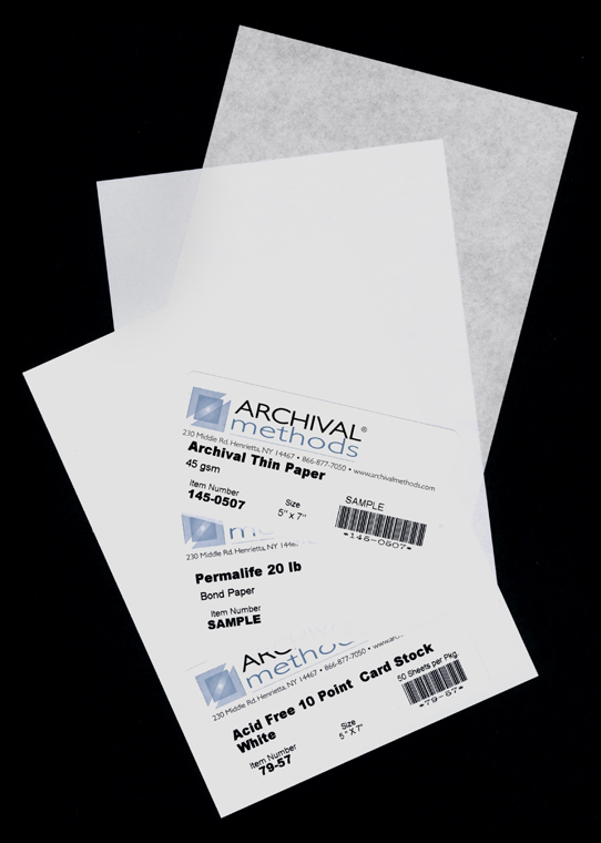 archival paper Archival paper is made slightly alkaline or with a neutral ph so that it will not yellow and turn brittle with age most paper companies offer such papers in their.