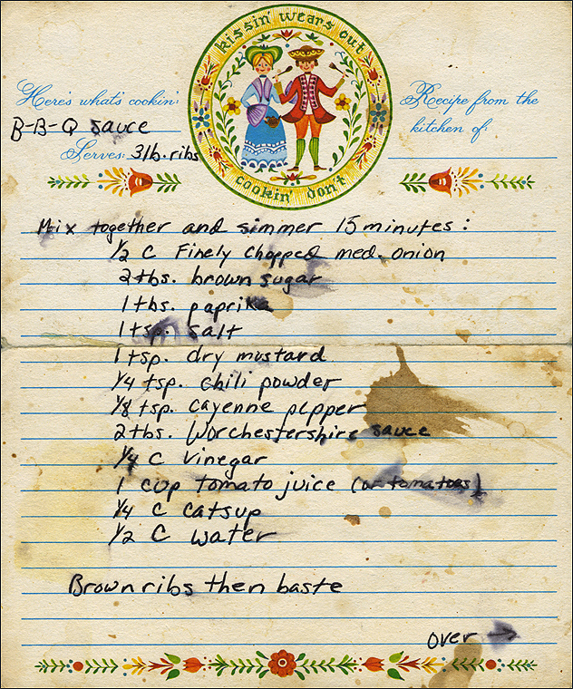 Preserving Old Recipes   Treasuries of Family Traditions