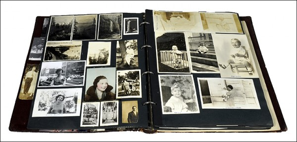 storing family heirlooms, preserving scrapbooks