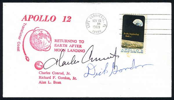 preserving signed, first day cover