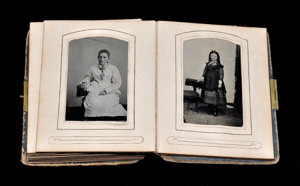 family archive, snapshots, archival storage, acid free, preservation, photo albums, tintype