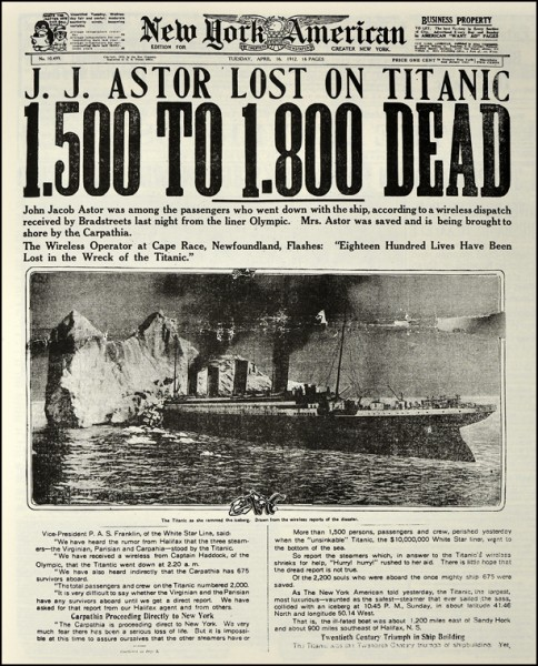 Archival Preservation Titanic Collections Amp Everything