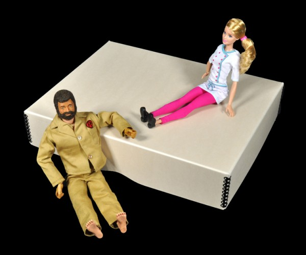 Toys Barbie 4 w:GI Joe