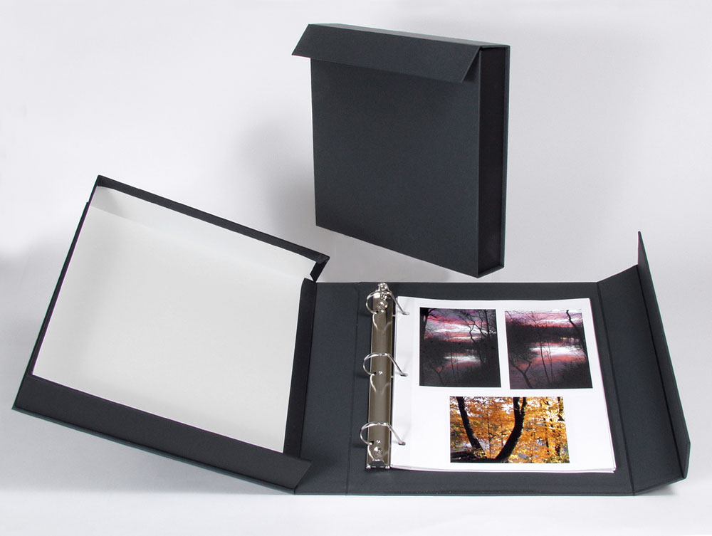 Archival Methods | ACCENT L-SERIES BINDER BOX | Archival Methods