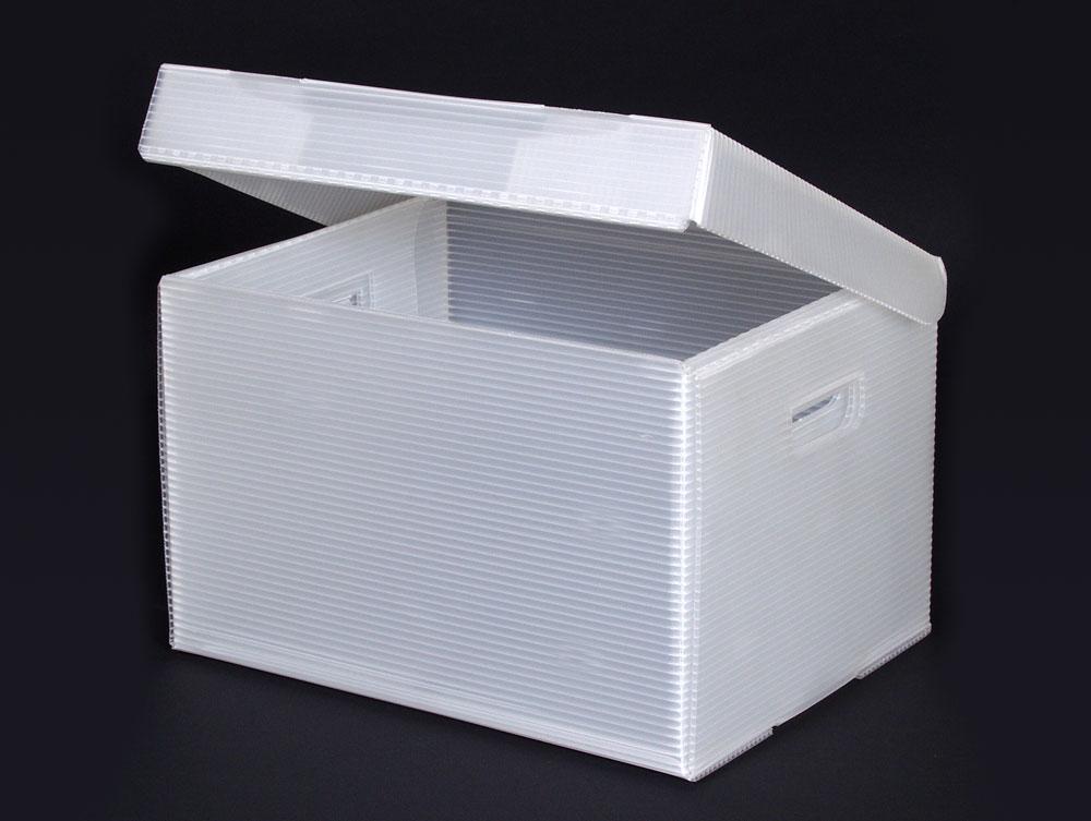 Flip Top Record Storage Box