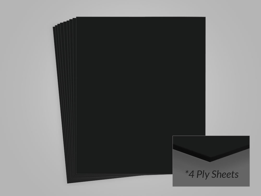 Bright White 8.5 x 11 Package of 25 2 Ply Archival Methods 100/% Cotton Museum Board