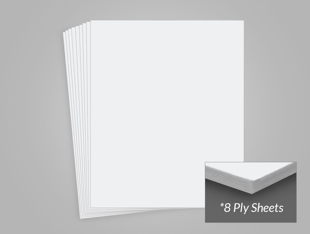 Museum Board Bright 8 Ply 100 Cotton Archival Methods