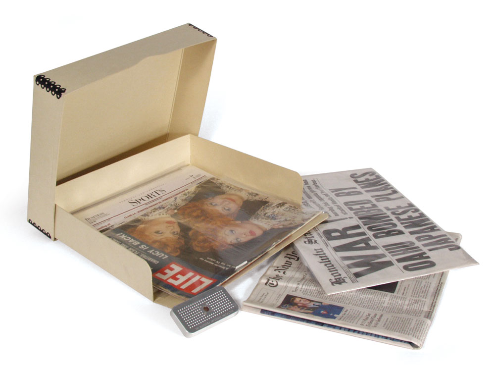 Newspaper U0026 Magazine Storage Kits