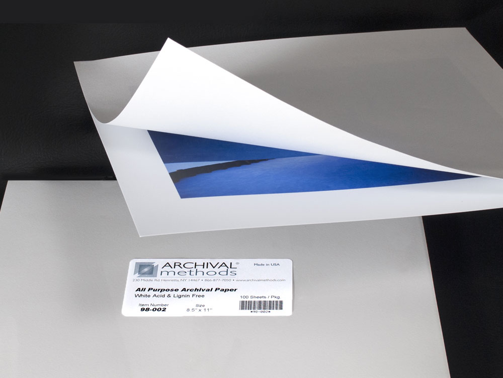 Acid-Free Paper - Archival Paper | Archival Methods