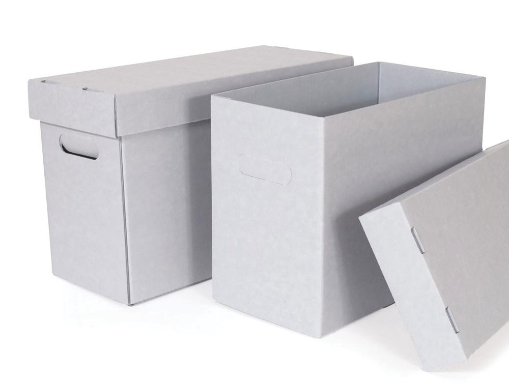 Half Size Record Storage Carton
