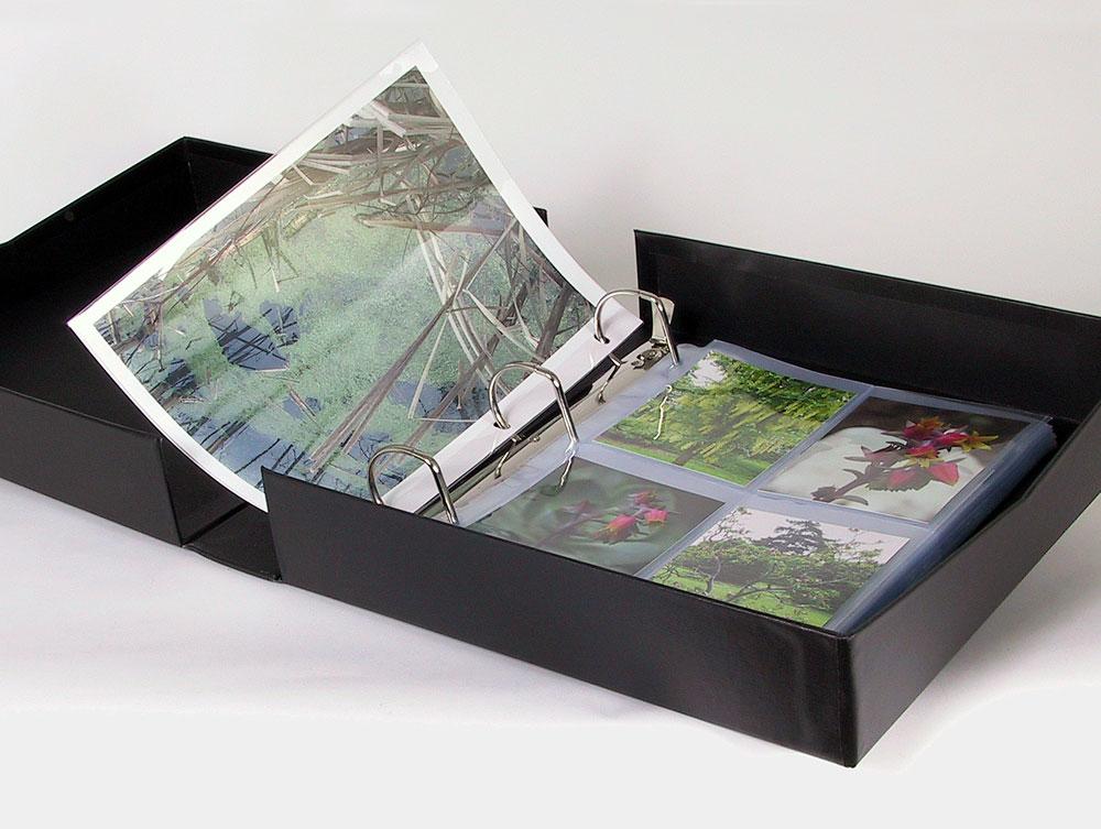 Binders Amp Albums Ringfolio Binder Box Archival Methods